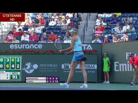 Maria Sharapova VS Camila Giorgi Highlight 2014 R3