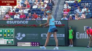 Maria Sharapova VS Camila Giorgi Highlight 2014 R3