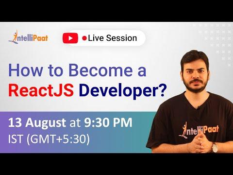 How to Become ReactJS Developer | ReactJS Developer | What is ReactJS Used for | Intellipaat