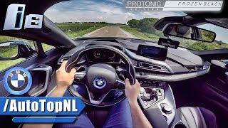 BMW i8 PROTONIC BLACK Test Drive POV by AutoTopNL