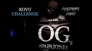 KHALIGRAPH JONES - KOVU FREESTYLE (OFFICIAL AUDIO)