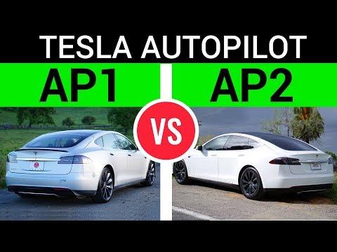 Tesla Autopilot 1.0 vs 2.0 ( AP1 vs AP2 )
