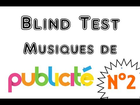 blind test 2 musiques de pub 30 extraits youtube. Black Bedroom Furniture Sets. Home Design Ideas