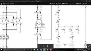 moteur asynchrone triphasé démarrage direct 2 sens de rotation