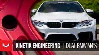 Kinetik Engineering   BMW M4 Widebody & M4   Manufactured by Vossen