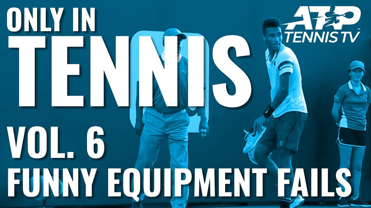 Funny Tennis Equipment Fails: ONLY IN TENNIS Vol. 6