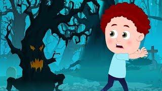 beängstigende hölzer   Vorschule Lied   Kinder lernen   Halloween Rhymes   Scary Woods For Kids