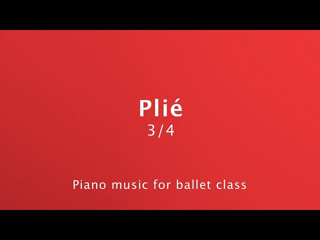 Plié Piano Music