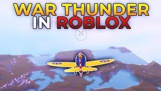 WAR THUNDER IN ROBLOX (Hostile Skies)