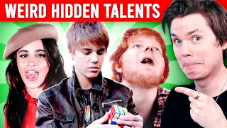 Singers with WEIRD Hidden Talents