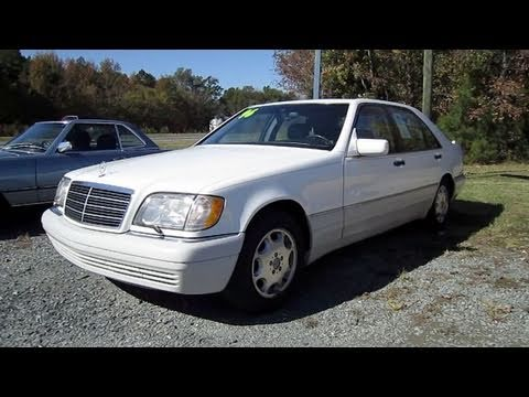 1996 Mercedes Benz S320 Start Up Engine And In Depth Tour