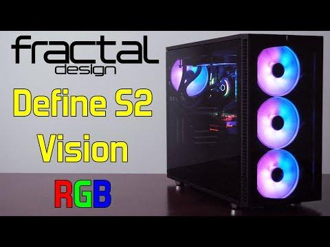 Ultimate RGB Glass Case — Fractal Design Define S2 Vision RGB — Review