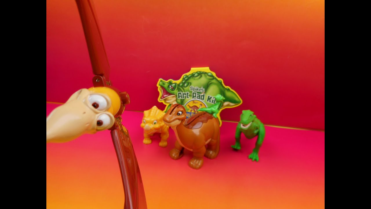 Land Before Time Toys : Wendy s kid meal set of land before time toys