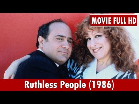 Ruthless People 1986 Movie **  Bette Midler, Danny DeVito, Judge Reinhold