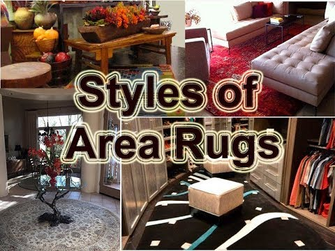 Diffe Styles Of Area Rugs