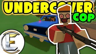 UNDERCOVER COP RP WITH A PSYCHOPATH PARTNER | Unturned Roleplay ( I...