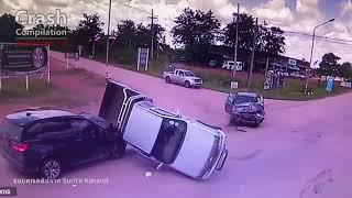รวมรถชนเดือนกันยายน 2561   Thailand Crash Compilation September 2018!