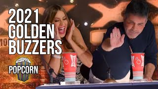 Golden Buzzer Auditions 2021 Contestant Judge Reactions On America S Got Talent 2021 MP3