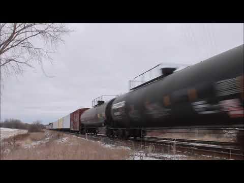 CN Train Derailment - CN M369 At Kingston ON