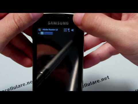 Samsung Omnia Pro prima parte
