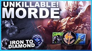 Download lagu  UNKILLABLEMORDE CHANGING THE BUILD ORDER Iron to Diamond League of Legends MP3