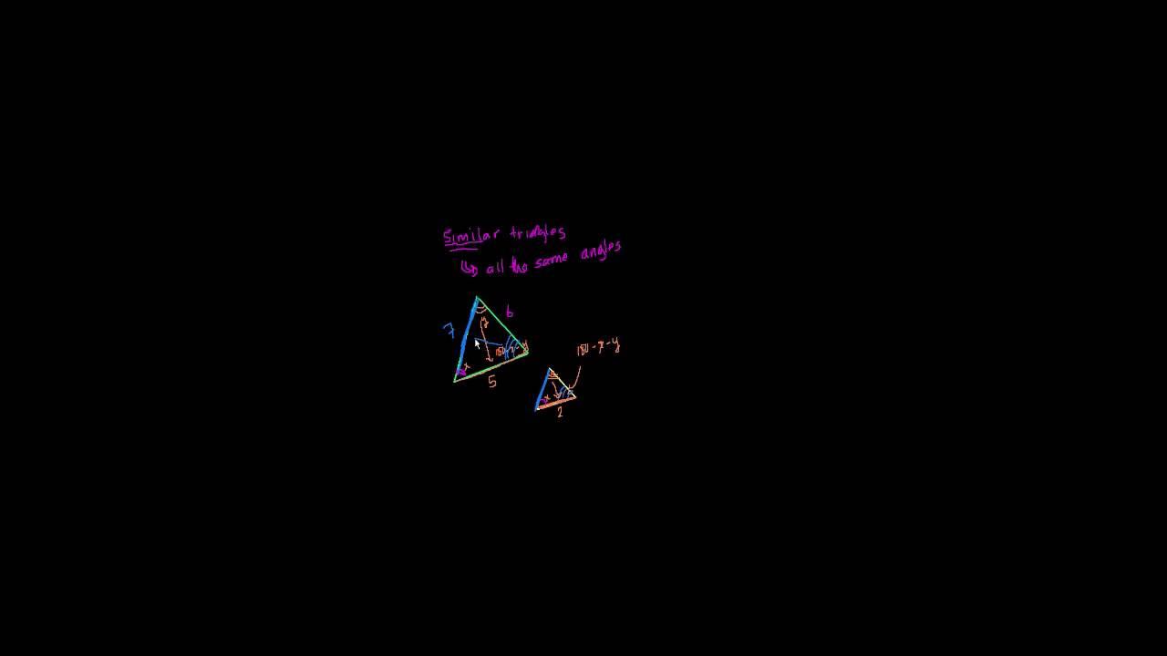 Ligedannede trekanter