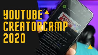 I am going to YouTube creator camp 2020