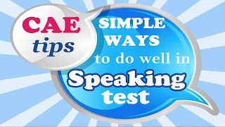 CAE Speaking test Part 1: ideas and sample answers