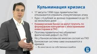 10.6. Валютный кризис в России  Основные уроки 16 24