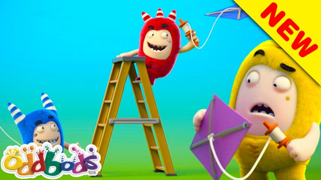 ODDBODS | Where There's a Wind There's a Way | Cartoons For Kids