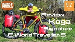 Koga Signature E-WorldTraveller-S TREKKINGBIKE REVIEW