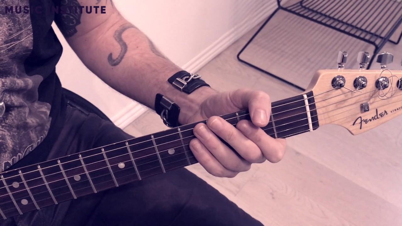 Lær at spille el guitar - Back In Black med AC/DC