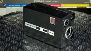 Eastman Kodak Instamatic M14 Movie Camera Vintage Super 8 Made in USA 1967 - 1969
