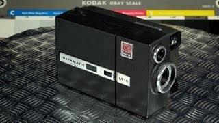 Eastman Kodak Instamatic M14 Movie Camera Vintage Super 8 Made in USA 1967 - 1969