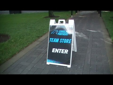 3. Carolina Panthers Team Store Tour Part 1 Of 2 YouTube  supplier