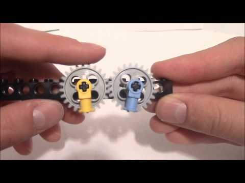 Construction Constructs: Gear Ratios & More [HD] Bricks, Tips and Tricks with Arcimedes36