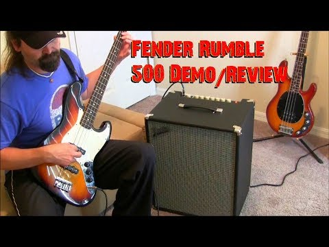 Fender Rumble 500 210 Bass Amp Review