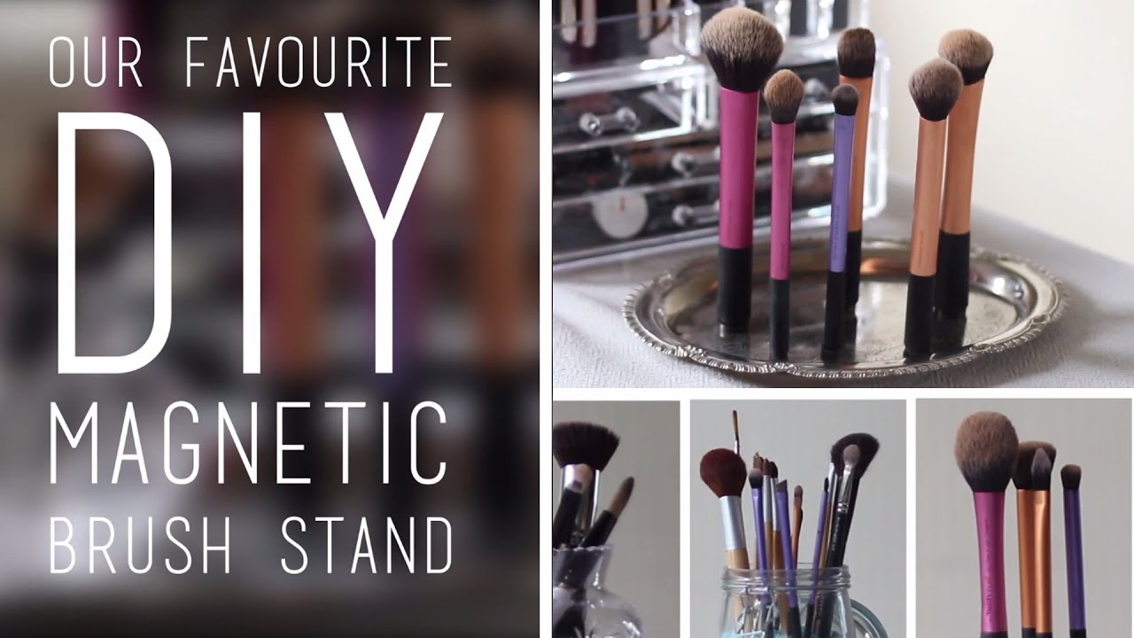 Charming DIY Storage And Organisation Ideas For Makeup Brushes   YouTube