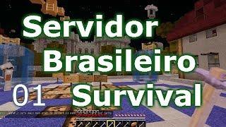 Minecraft Survival: procurando o melhor servidor para construir - 01