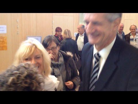 Le député Jean Lassalle au procès Bonnemaison
