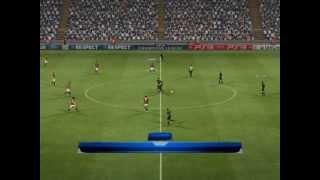 PES 2012 - AC Milan vs FC Barcelona - UEFA Champions League