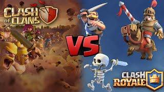 Clash Royale ou Clash Of Clans - Qual é melhor?
