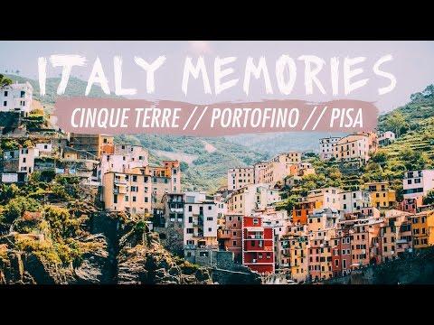 ITALY MEMORIES // Cinque Terre, Portofino, Pisa // Kat's Films