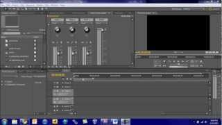 Adobe Premiere Pro CS5 Tutorial: Audio Mixer