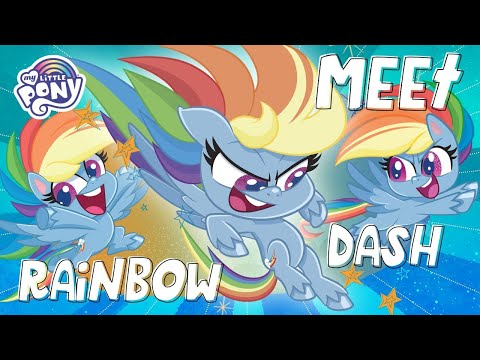 My Little Pony: Pony Life 💖 NEW 💖 Meet Rainbow Dash In Pony Life | MLP Pony Life