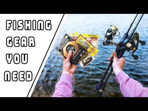 The ONLY Fishing Gear You NEED As A Beginner Angler