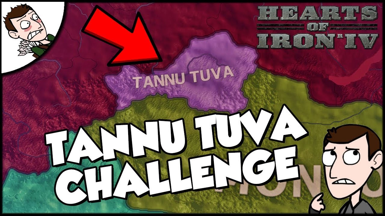 Hearts of Iron 4 HOI4 Tannu Tuva Challenge (Road to 56 Mod)