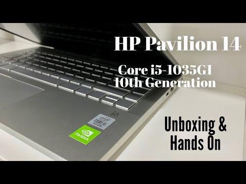 Hindi: HP Pavilion 14 Core i5 10th Gen Laptop Unboxing & Overview!