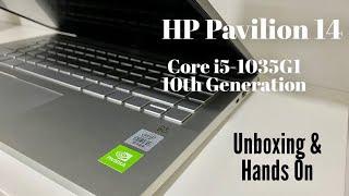 Hindi HP Pavilion 14 Core i5 10th Gen Laptop Unboxing amp Overview