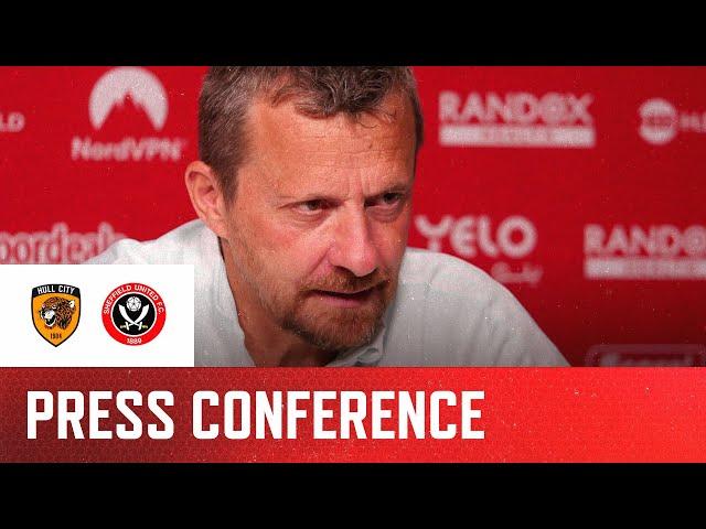 Slaviša Jokanović | Hull City v Sheffield United | Pre-match press conference